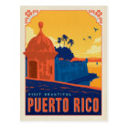 Visit Beautiful Puerto Rico Postcard