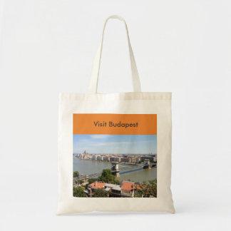 Visit Budapest Tote Bag
