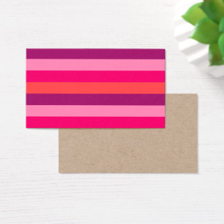 Visit cards with purple Stripes