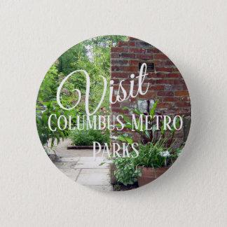 Visit Columbus Metro Parks 6 Cm Round Badge