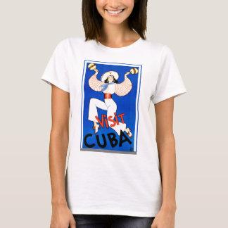 Visit Cuba Retro Vintage T-Shirt