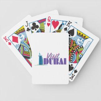Visit Dubai Poker Deck