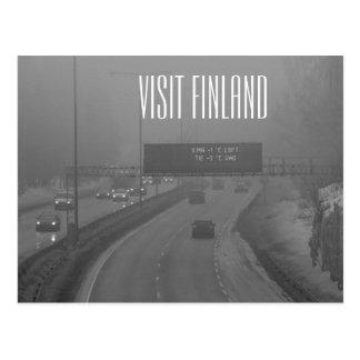 Visit Finland postcard