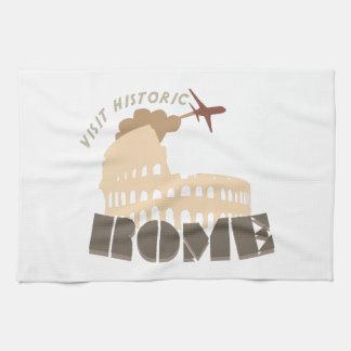 Visit Historic Rome Towel