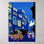 Visit India Asia Vintage Travel Poster