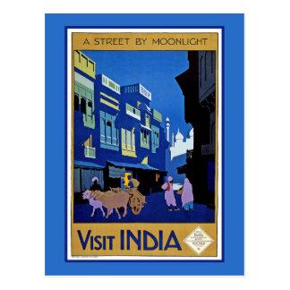 Visit India Postcard