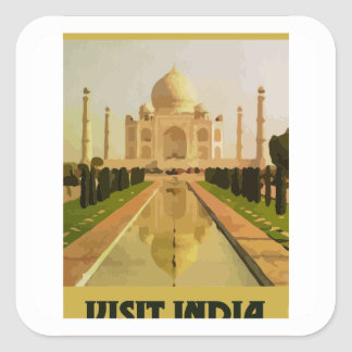 visit  india square sticker
