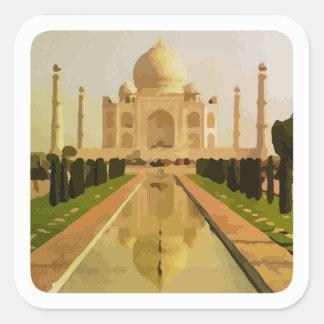 visit  india square sticker