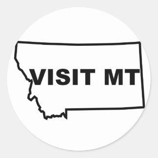 Visit Montana Sticker