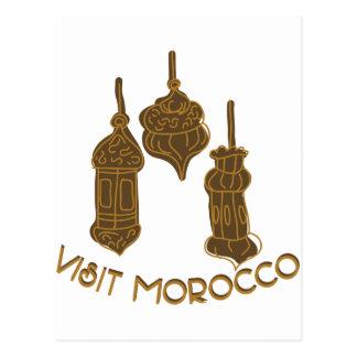 Visit Morocco Postcard