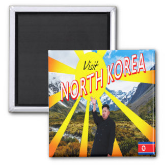 Visit North Korea Magnet