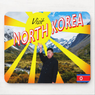 Visit North Korea Mouse Pad