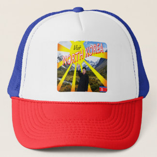 Visit North Korea Trucker Hat