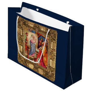 Visit of the Wise Men Large Gift Bag