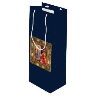 Visit of the Wise Men Wine Gift Bag