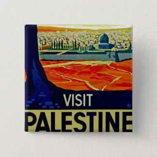 Visit Palestine 15 Cm Square Badge