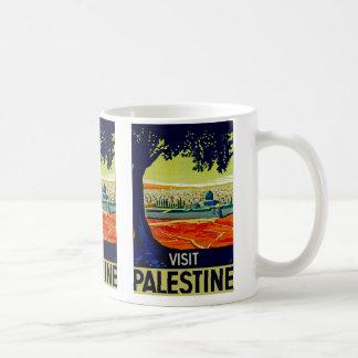 Visit Palestine Basic White Mug