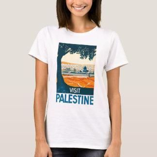 Visit Palestine Poster T-Shirt