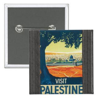 Visit Palestine Vintage Buttons