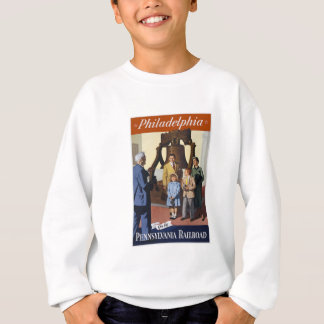 Visit Philadelphia on The Pennsylvania Railroad Sweatshirt