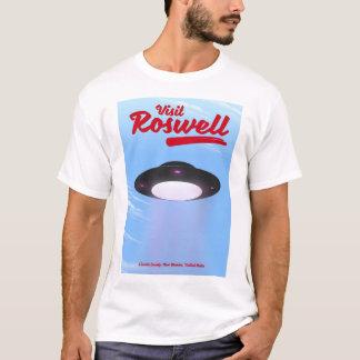 Visit Roswell UFO vintage poster Color T-Shirt