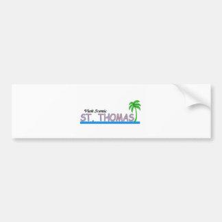 Visit Scenic St.Thomas Bumper Stickers