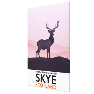 Visit the Beautiful Island of Skye Canvas Print