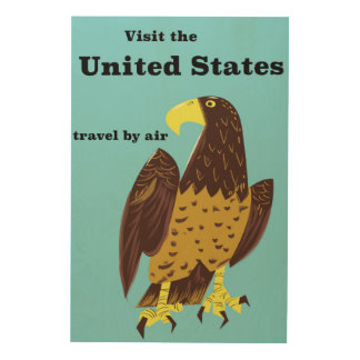 Visit the united States Travel poster