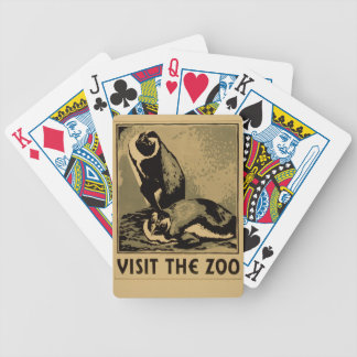 Visit The Zoo Bicycle Playing Cards