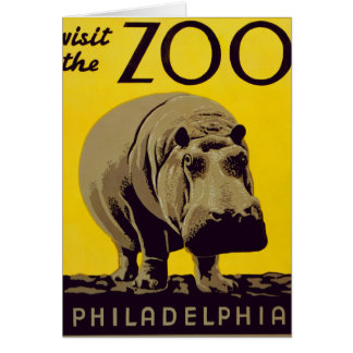 Visit The Zoo!! Card