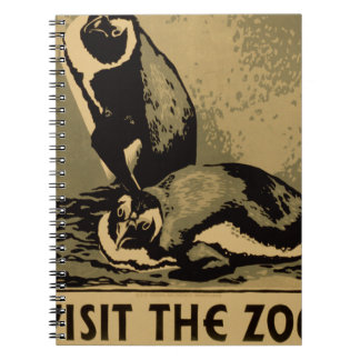 Visit The Zoo Notebook