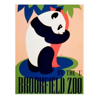 Visit The Zoo!! Postcard