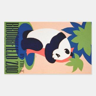 Visit The Zoo!! Rectangular Sticker