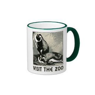 Visit the Zoo - WPA Poster - Mugs