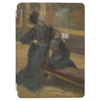 Visit to a Museum by Edgar Degas iPad Air Cover