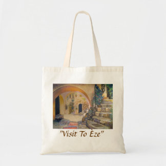 Visit To Èze Tote Bag