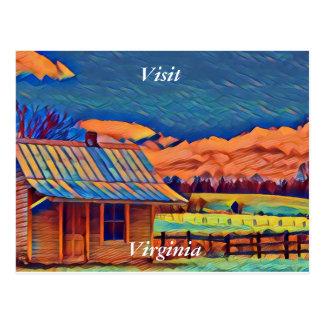 Visit Virginia Postcard