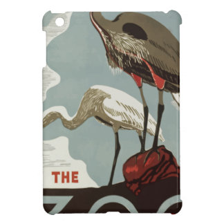 Visit Zoo Vintage Case For The iPad Mini