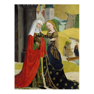 Visitation from the Dome Altar, 1499 Postcard