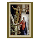 Visitations of the Virgin Mary St. Elizabeth Card