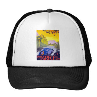 Visitez La Grece En Auto Greece Trucker Hat
