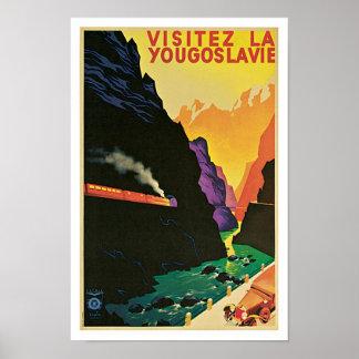 Visitez La Yougoslavie Print