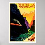 Visitez La Yougoslavie Vintage Travel
