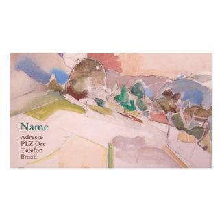 Visiting card Anton Mahringer Business Card Template