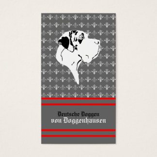 Visiting card Dogge