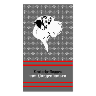 Visiting card Dogge Business Cards