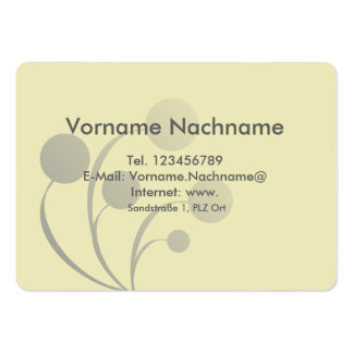 Visiting card pack of chubby business cards