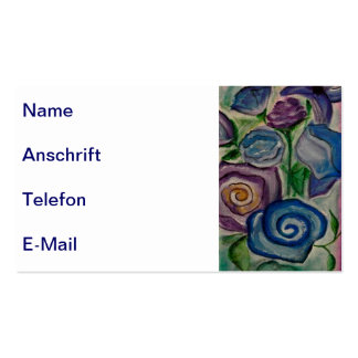 Visiting cards Flowers Pack Of Standard Business Cards