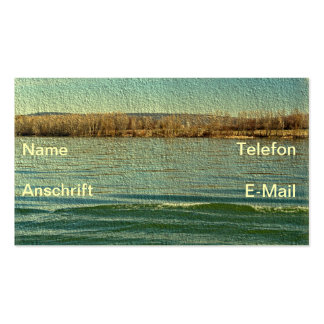 Visiting cards nature pack of standard business cards