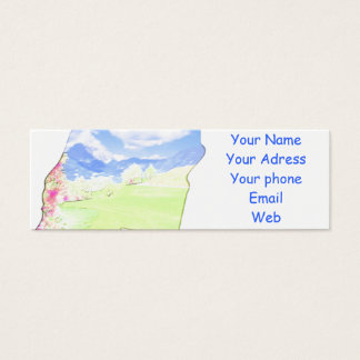 Visiting cards personalisierbar
